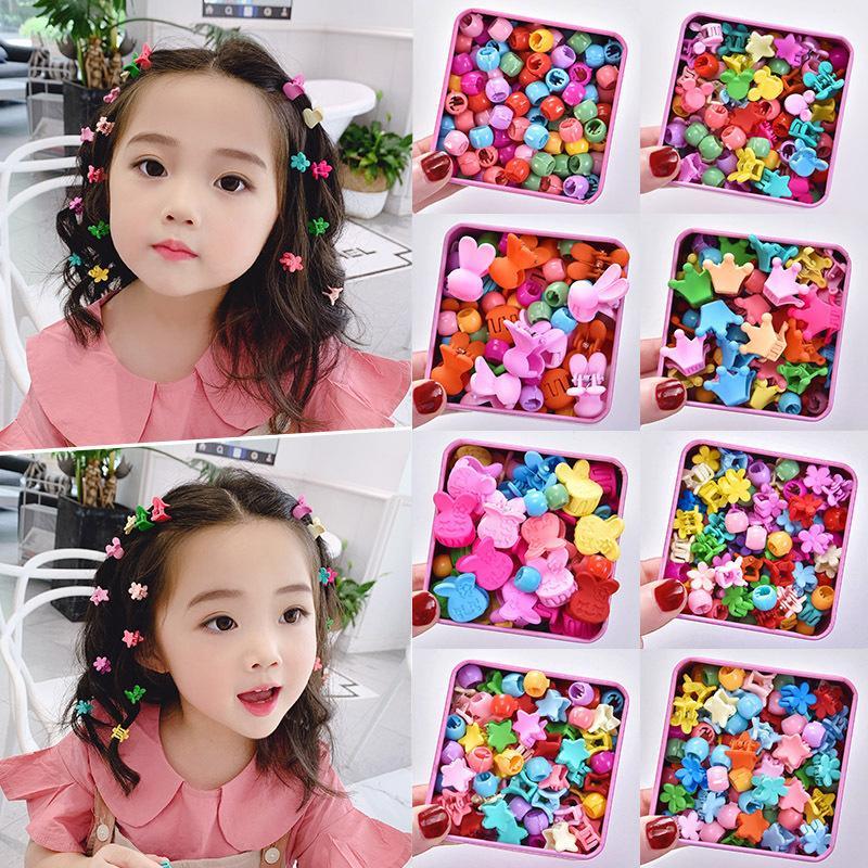 Children's Princess Cute Mini Hairpin Girls' Korean Baby Hair Clip Head