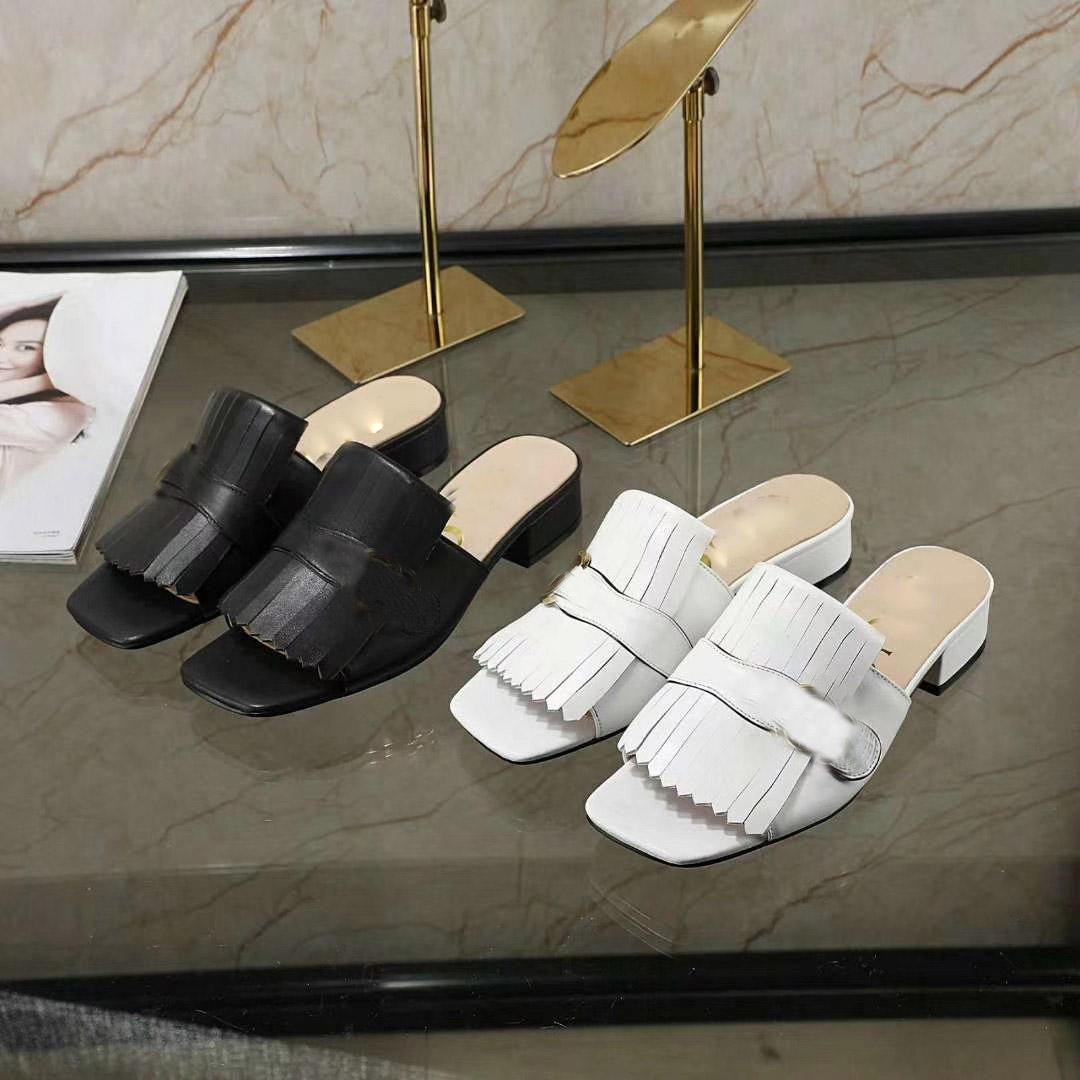 2021 Vente chaude Chaussons plats Femmes Girls Casual Summer Holiday Beach Soft Beauquette Plateaux Chaussures Lady's Outdoor Dlides Open Tee Taille 40 # G53