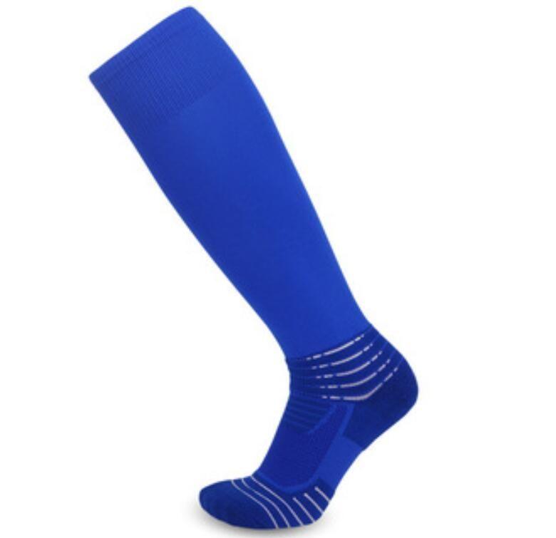 Открытый неплотный профилактика каблуков растяжения для взрослых толстые полотенце нижние спортивные спортивные тренировки высокая труба на колено мужские футбольные носки