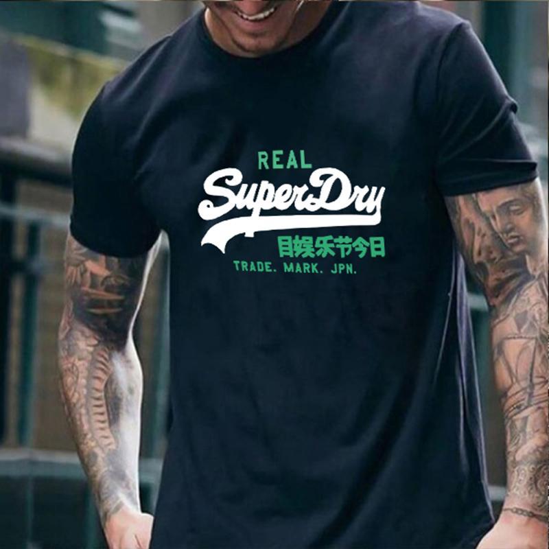 Мужская футболка лета Harajuku Cool Unisex с коротким рукавом футболка мода футболка мужская бренд напечатана уличная одежда плюс размер футболки 210225