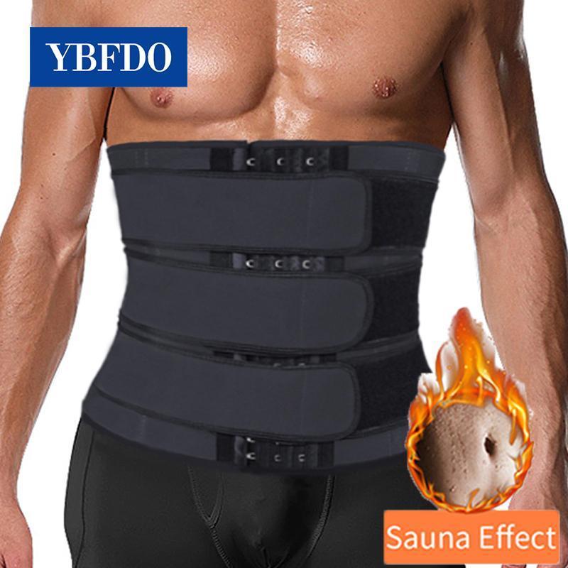 YBFDO Талийский тренер для похудения тела Shaper Slim Ream для мужчин Tummy Control Modeling Ремешок для моделирования Belly Control Cincher Trimmer
