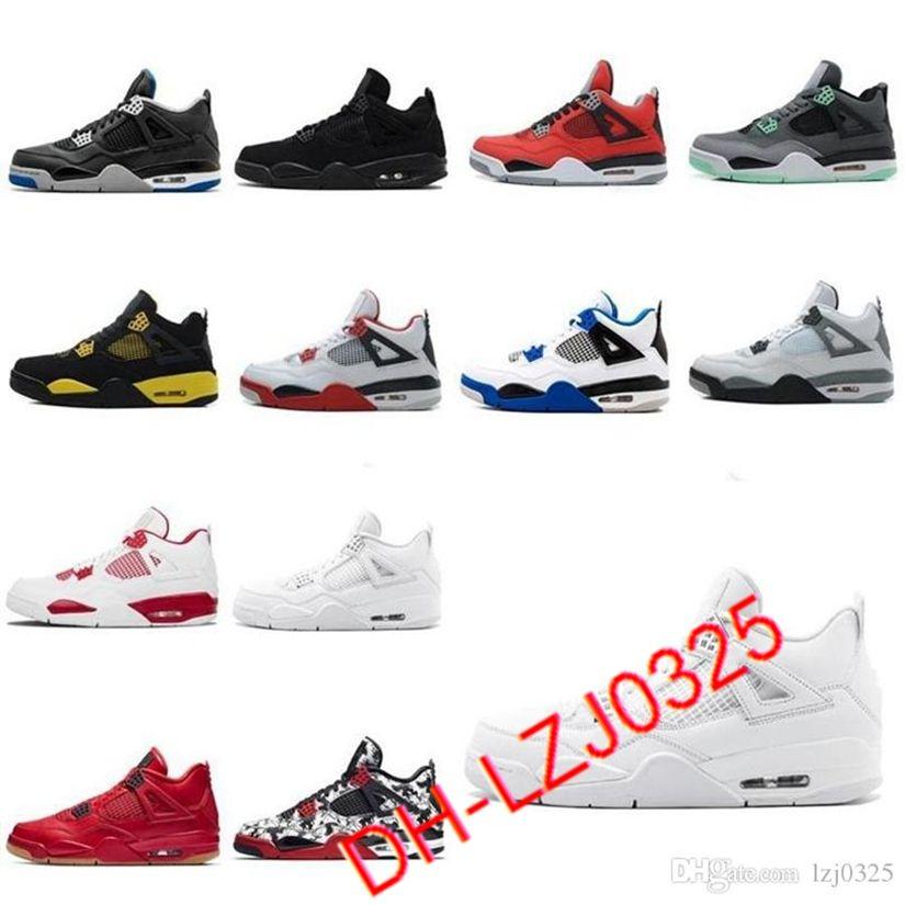 Jumpman 1 11s Botas Travis Scotts Obsidian Sin miedo Lo que los zapatos de baloncesto para hombre Black Cat Bred 4 Sneakers Tamaño 40-46 7-12