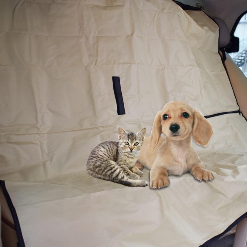 Собака автомобильные сиденья крышки крышки водонепроницаемый Pet Travel Mat Hammock задняя задняя панель