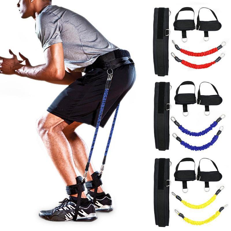 Widerstandsbänder Festigkeit Trainingsgürtel Yoga Gym Sling Seil Outdoor Indoor Sports Dehnen Haus Fitness 2021
