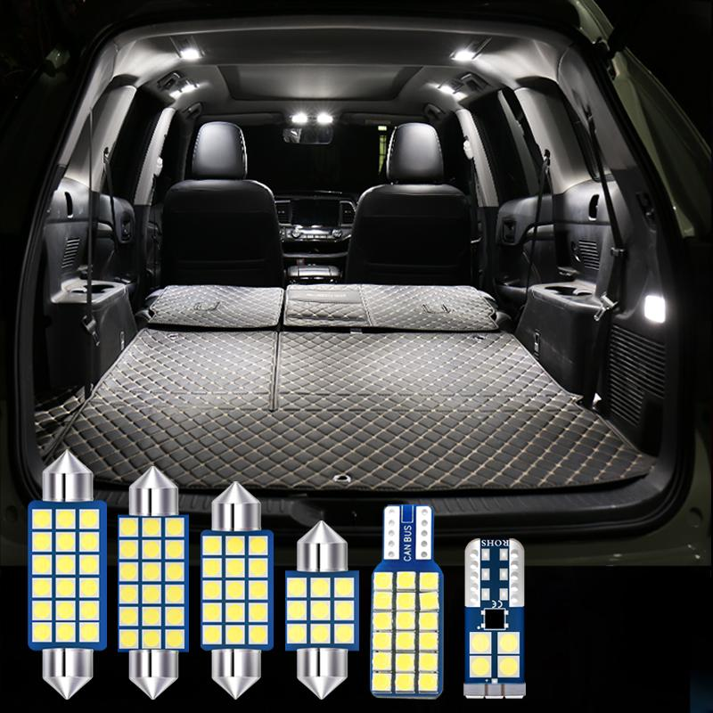 Volkswagen VW Golf MK5 MK6 MK7 Golf 5 6 7 12 V LED Ampuller 12 adet Araba İç Harita Dome Okuma Lambaları Trunk Işık Aksesuarları