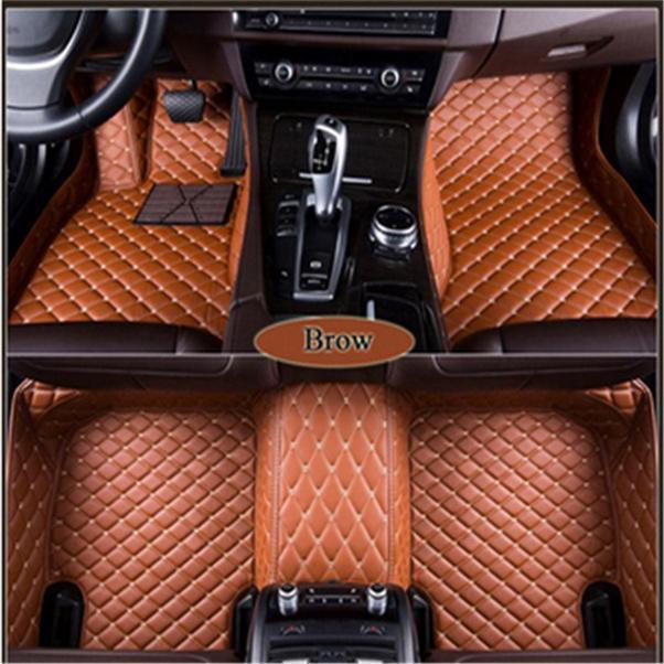 자동차 매트는 폭스 바겐 딱정벌레 CC EOS 골프 Jetta Passat Tiguan Touareg Polo Touran Lavida에 적합합니다.