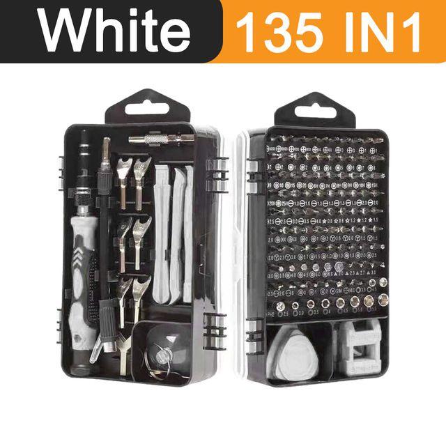 FreeShipping 135 в 1 Набор отверток Установленная точная Torx Многофункциональные инструменты для ремонта открывания Мини-магнитная отвертка для телефонов планшетный ПК