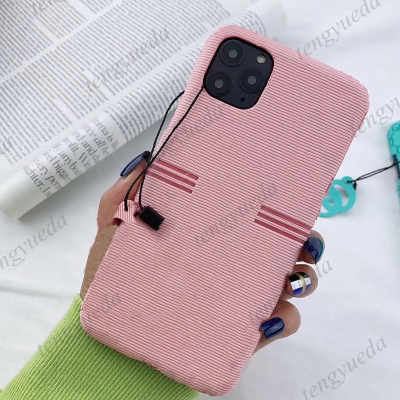 Coque de téléphone de la créatrice de mode pour iPhone 12 12Pro 11 Pro Max XS XS XR XSMAX 8plus Couverture de téléphone portable de luxe avec Galaxy Note 20 Ultra Note10 S20 S10 Plus