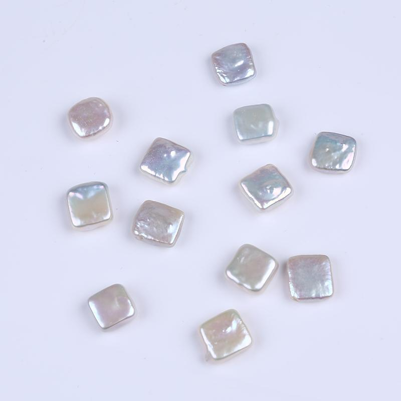 AA+ Grade Loose Freshwater Pearl Coin/Drop/Quadrate Beads for Necklace Earrings Making Jewelry DIY Material Pearls