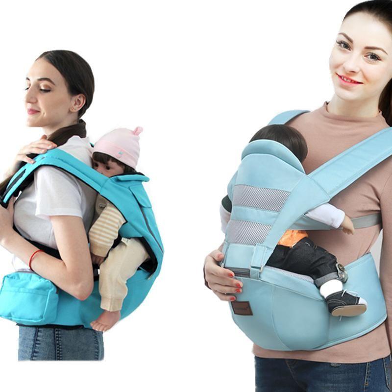 Portadores, Eslingas Mochilas Cuatro Seasons Multifuncional Relajado Bebé Cintura Taburete Strap Front-Holding Tipo Sentado Transpirable Carnie