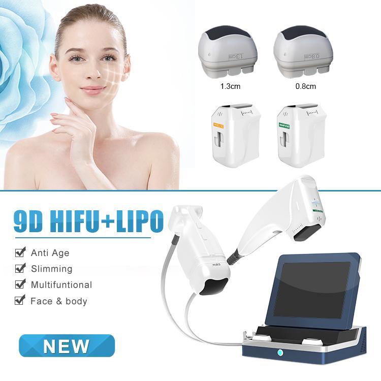 2021 2IN1 Liposonix 9D HIFU machine Newest Liposonix slimming beauty HIFU face lifting skin tightening beauty machine Hifu beauty machine