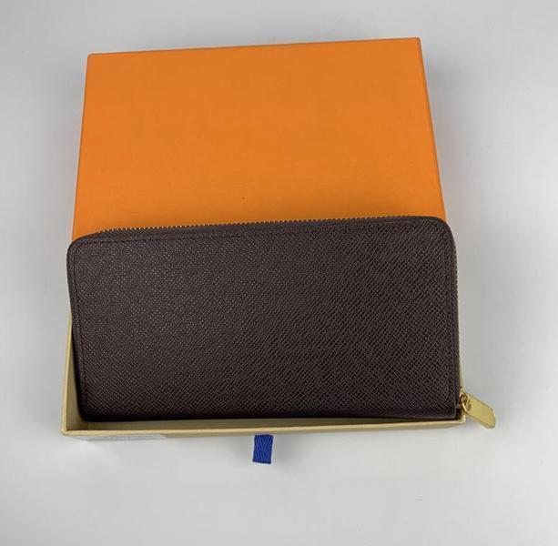 2021 Estilo Venta al por mayor Mujer Lady Long Wallet Multicolor Diseñador Monedero Monedero Titular de la tarjeta Mujeres Classic Zipper Bolsillo Larga Wallet Envío gratis
