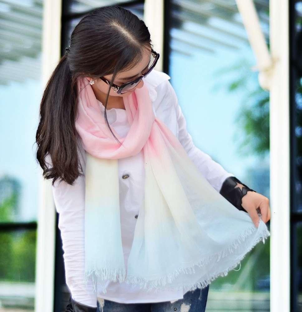 primavera e 2020 novo gradiente modal verão ar condicionado sunscreen scarf xaile