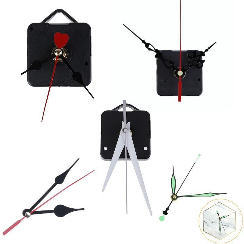 Wanduhren DIY Clock Mechanismus Teile Klassische hängende schwarze Quarzuhr Bewegung