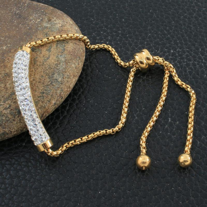 Браслеты очарования мода из нержавеющей стали ювелирных изделий браслет браслет высокое качество для женщин bewhafbi