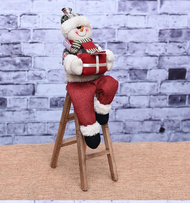 Украшения Санта Буф поставляет Рождественские украшения Клаус декор ремесел аксессуары x1x6