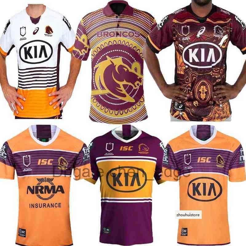 S-5XL 2019 2020 2021 Nueva versión nativa Mustang Rugby Jersey 19 20 21 Camisa de rugby Polo casual Set Shorts Chaleco