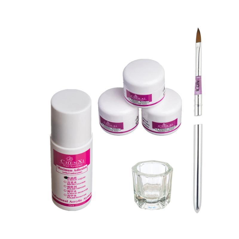 Kits de arte de uñas Pro simplemente acrílico líquido en polvo plato plato conjunto de herramientas cosmetic150ml accesorios de accesorios herramienta de decoración
