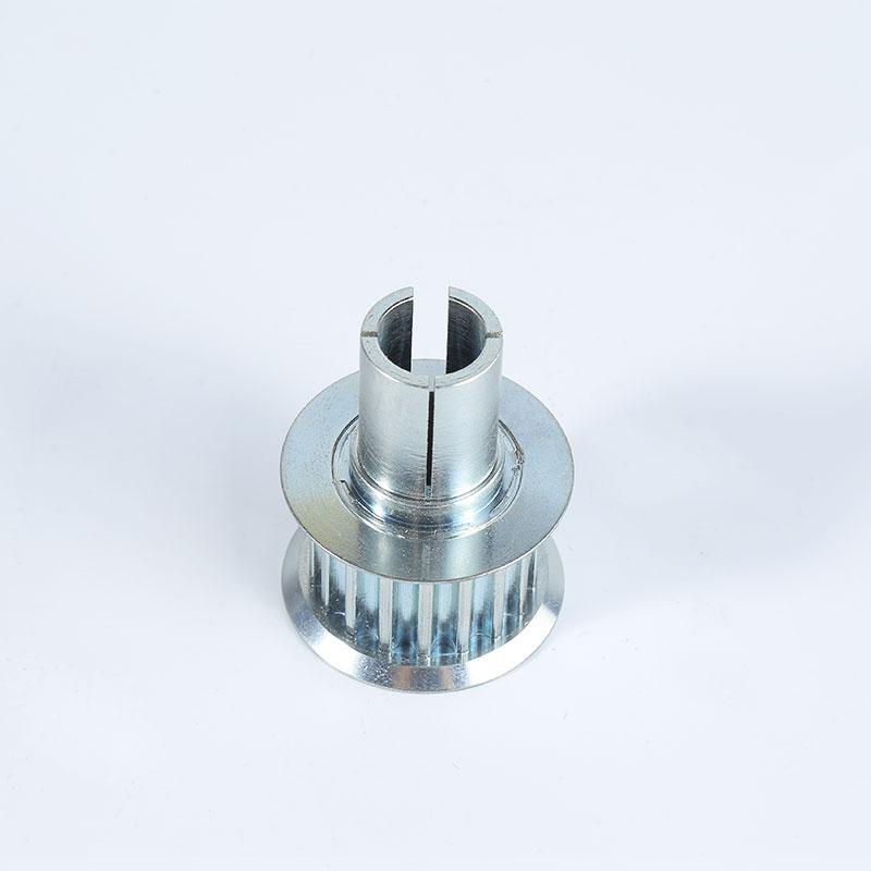 Poulie synchrone personnalisée des engrenages d'usinage en alliage d'aluminium fonctionnant sans bruit