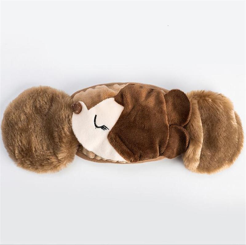 1 2 Fuchsabdeckung Design in Gesichtsmaske Ohrenschützer Winddicht schützend dicke warme erwachsene Mundmasken Winter Mund-Muffel Earflap XH6W63