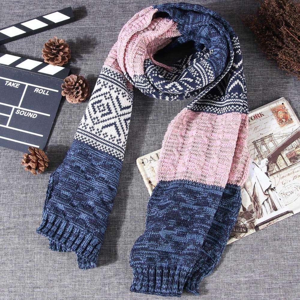 Wollschal weibliche Winter koreanische Version vielseitiger Schal Dual Gebrauch Frühling und Herbst Verdickung warmes Paar Hals Mann W1803p18