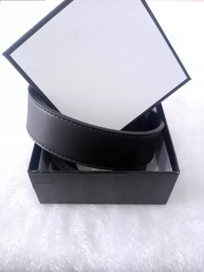 Yeni 2021 Tasarımcı Yeni Kemer Toka Lüks Kadın Kemerler Üst Moda Deri Erkek Kemeri / 2.0 cm-3.8 cm Kutusu ile
