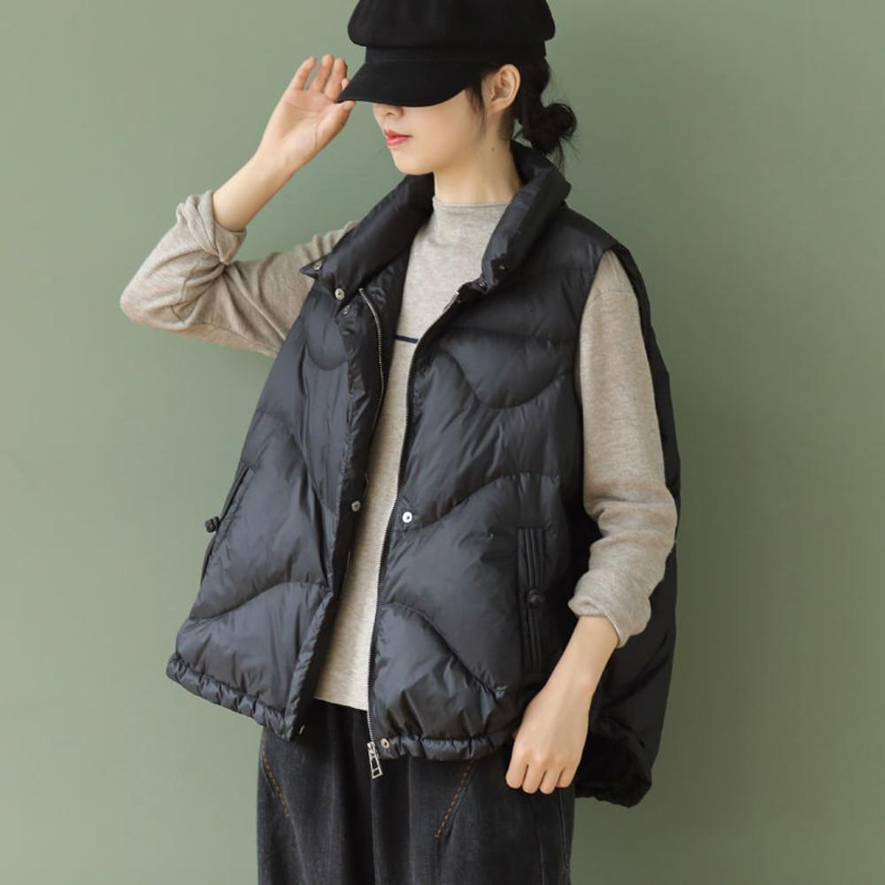 Fashional Woman's Vest Parkas Thickened warm clothes women Cotton Padded Short Jacket Turn-down collar Female Waistcoat Coats