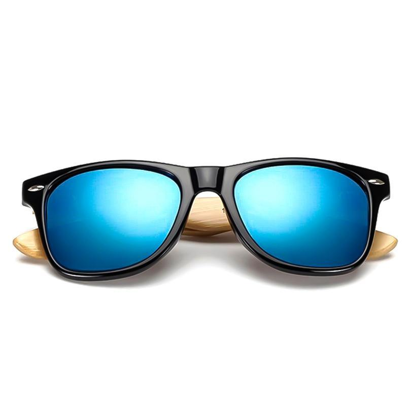 Wood Sunglasses Men Women Square Bamboo Women For Men Mirror Sun Glasses Retro De Sol Masculino 2021 Handmade