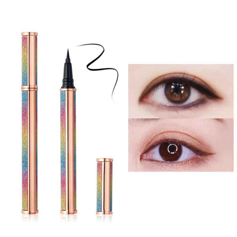 Hot Nuovo Trucco 9 Stili Penna per eyeliner Autoadesiva Penna da eyeliner Glue-Glue-Free per ciglia finte impermeabile Eye fodera Matita Top Quality