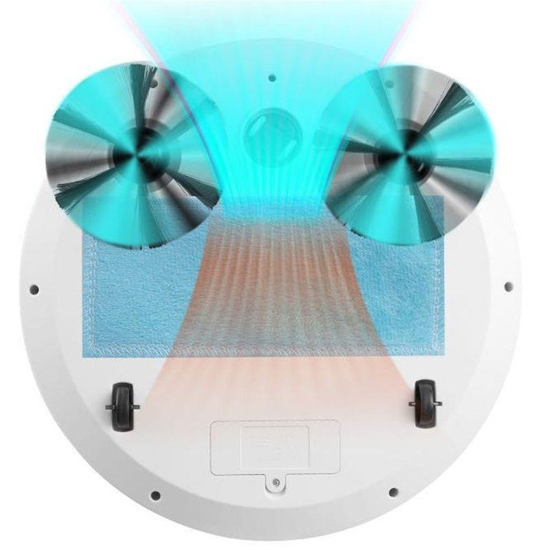 التطهير الطابق الكاسح الروبوت 360 درجة دوران كهربائي كهربائي نظافة رقيقة جدا المنزلية USB شحن التلقائي ذكي 676 K2