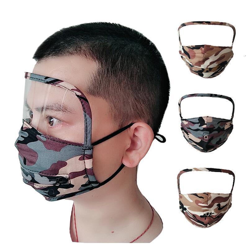 1 щит 3 пыли камуфляж моющийся в против нефтяной защитной маски питья рот лица маски с отверстием или молнией CCA12291 100PCSIN Stock124455