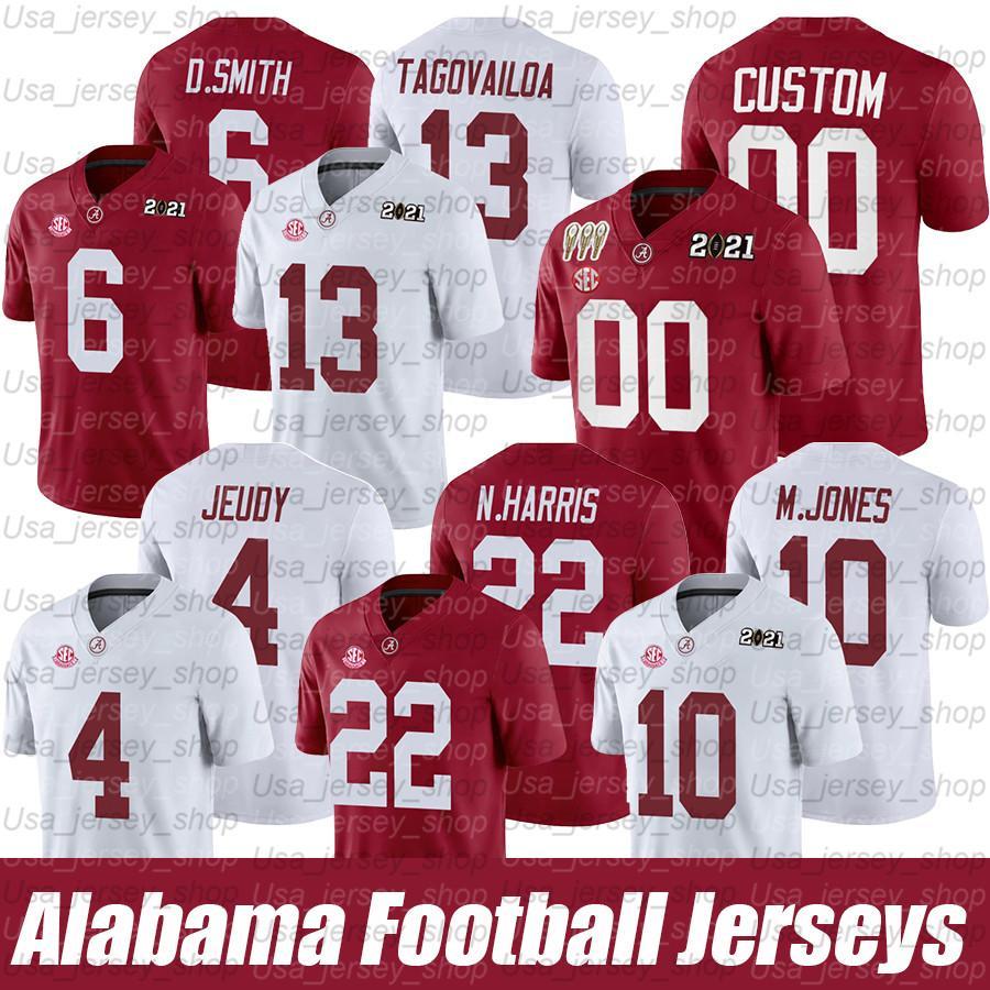 Brian Robinson Jr Alabama Crimson Tide Football Jersey-White