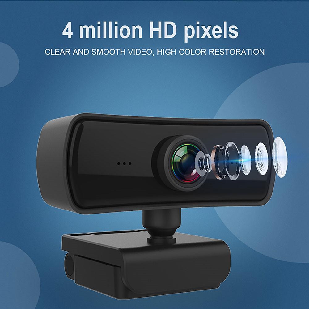400W HD Pixel 2K Computer-PC-Webkamera mit Mikrofon für Desktop Live-Rundfunk-USB-Webcam-Videoaufzeichnungsarbeit
