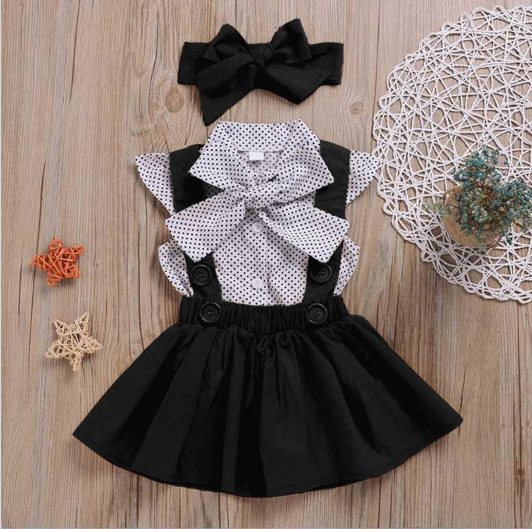 Çocuklar Kız Dantel Yaka Yaka Kısa Kollu Elbise Çocuklar Zarif Yaz Bebek Kız Yeni Giysileri