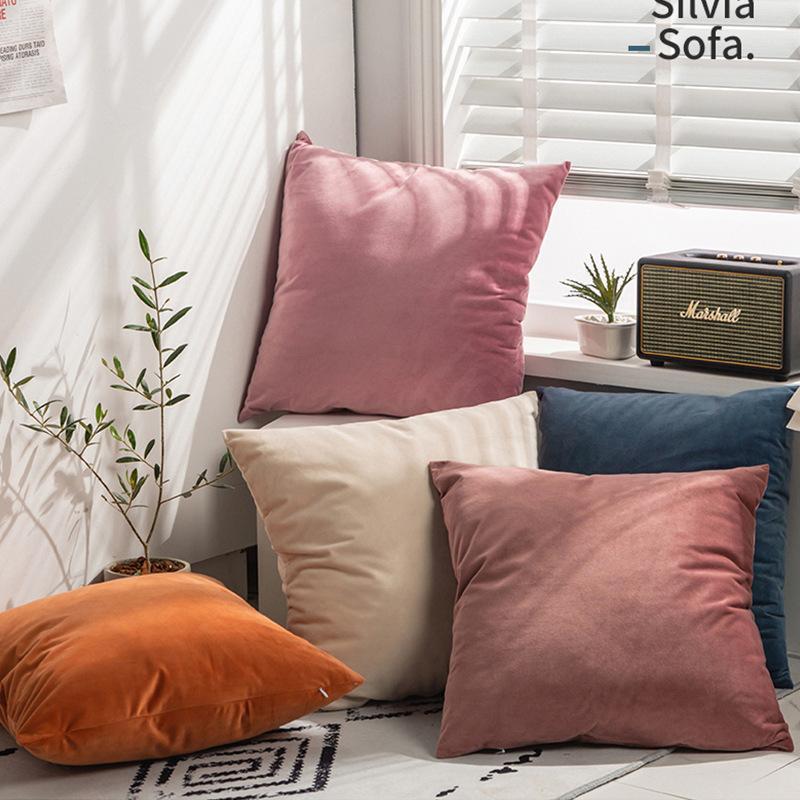 X133 Küçük Taze Kucaklama Yastık Dikey Şerit Süet Yastık Örtüsü Ev Eşyaları Hug Yastık Katı Renk Yastık ASDF Kapakları