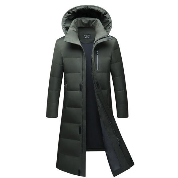 90% белая утка вниз мужские длинные пуховики высокого качества российская толстая теплая куртка мужчины плюс размер 6xL молодежь с капюшоном Parkars