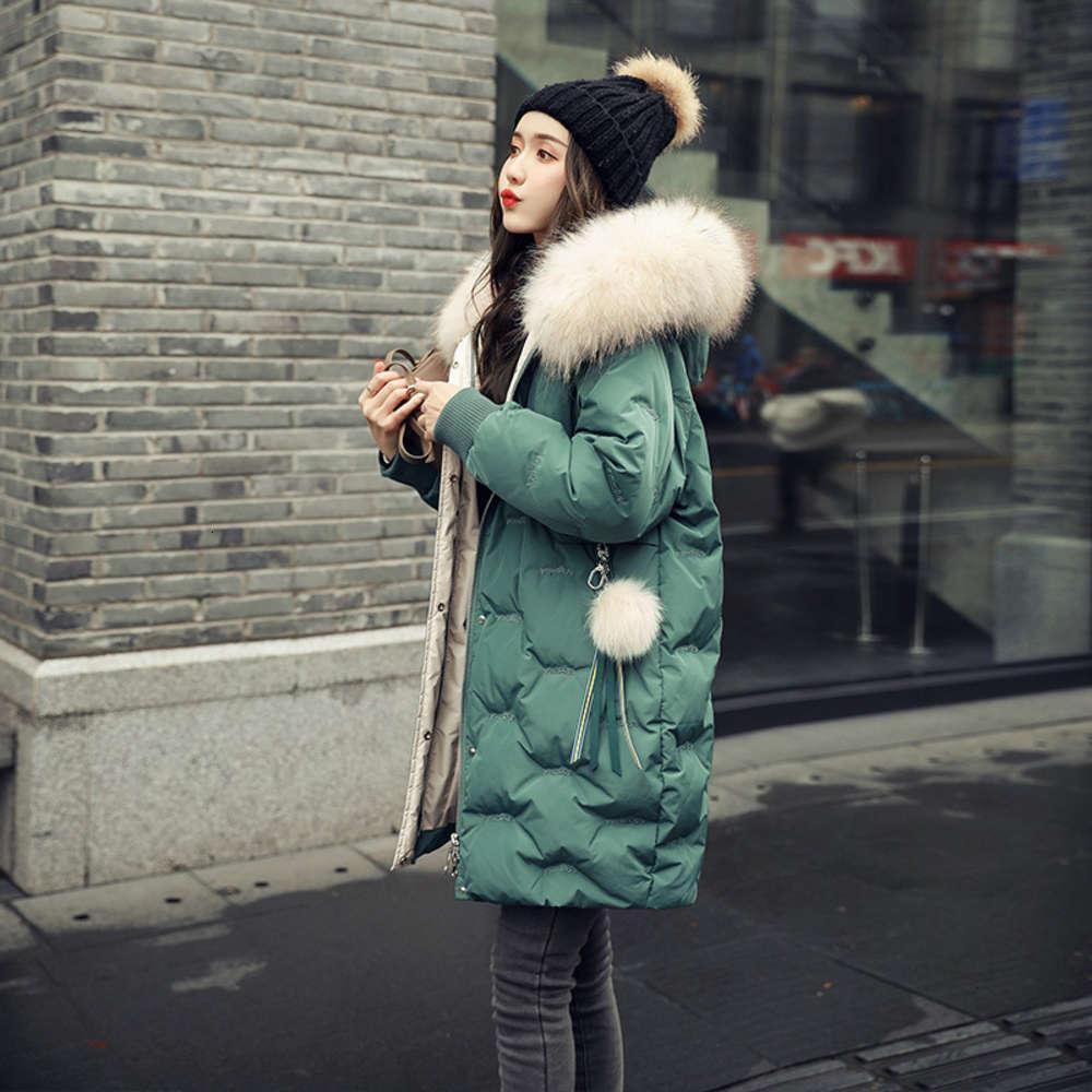 Veste verte de la créatrice de mode 2020 de la mode pour femmes pour l'hiver des femmes
