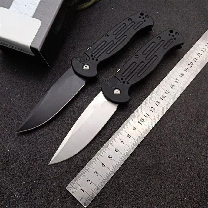 Borboleta na faca 9051 AFO II 154cm lâmina única ação tática bolso dobrável faca lâmina faca de pesca EDC ferramenta de sobrevivência A3155