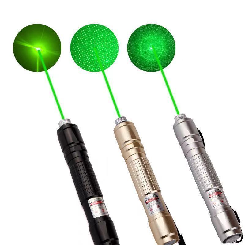 قوية الصيد بالليزر البصر الأخضر مؤشر الليزر 4.5MW عالية الطاقة حرق مؤشر الليزر ضوء واضح الضوء الأخضر ضوء حرق العسكرية X0524