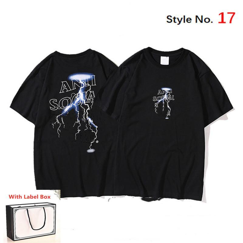 남성용 Tshirt 여성용 짧은 소매 고품질 Tshirt 순수한 면화 여름 티셔츠 글자 인쇄 힙합 스타일의 옷 태그 상자