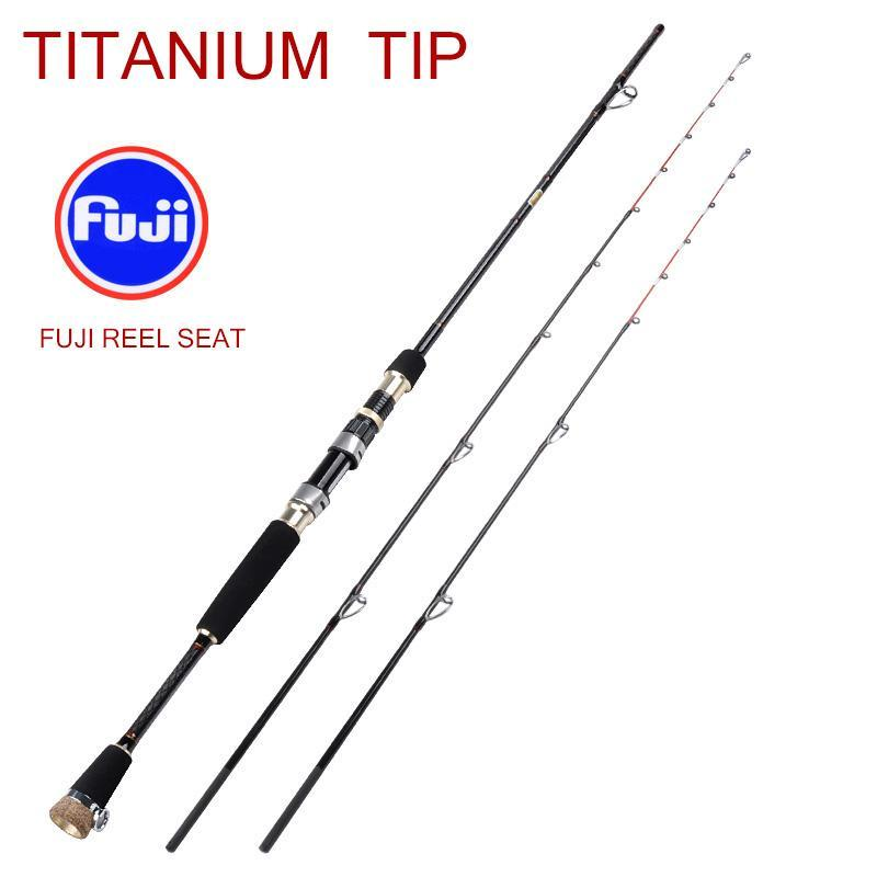 Seebass Super Light Salleate Fuji Buel Seat Sic Guides Fishing Jost Titanium Tip Tibre Волоконные материалы Световой лодку Кальмара