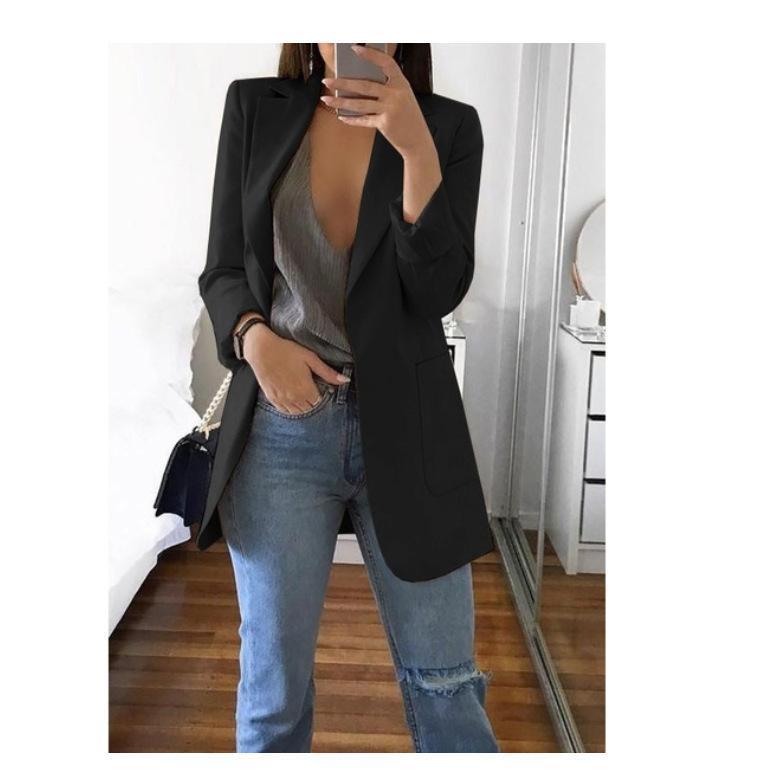 2021 Autunno Moda Donna Blazer e Giacche Lavoro Ufficio Signora Vestito Donne Slim Business Femmina Talever Cappotto Cape Blazer Vestido