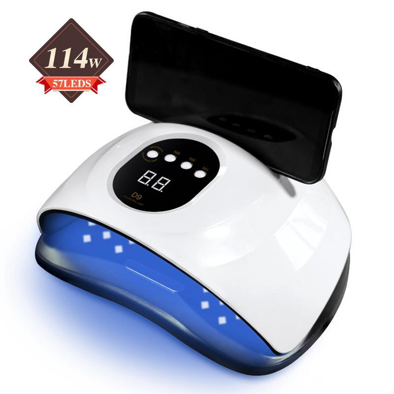 114W Nagellampe LED Phototherapie Maschine Schnelltrocknung Hände Phototherapie Maschine Lampe Nageltrockner