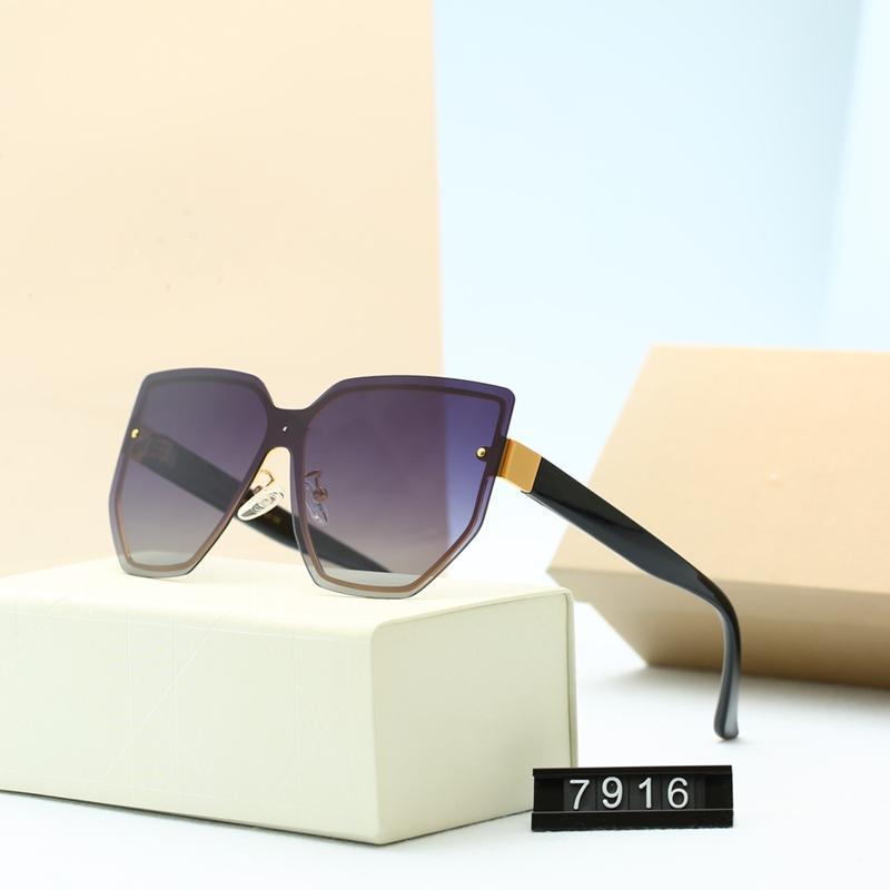 أربعة ألوان إطار نظارات شمسية كبيرة للنساء عصرية عالية الجودة hd الاستقطاب العدسات الأزياء عارضة القيادة نظارات 9021