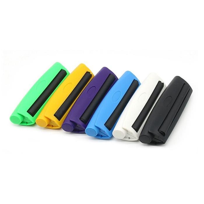Yeni 110mm Haddeleme Makinesi Plastik Manuel Sigara Makinesi El Tütün Rulo Sigara Haddeleme Kağıt Duman Aksesuarları