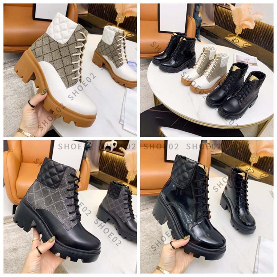Kadın Diz Çizmeler Tasarımcı Yüksek Topuklu Ayak Bileği Boot Gerçek Deri Ayakkabı Moda Ayakkabı Kış Güz Kutusu Ile AB: 35-41 by Shoe02 01