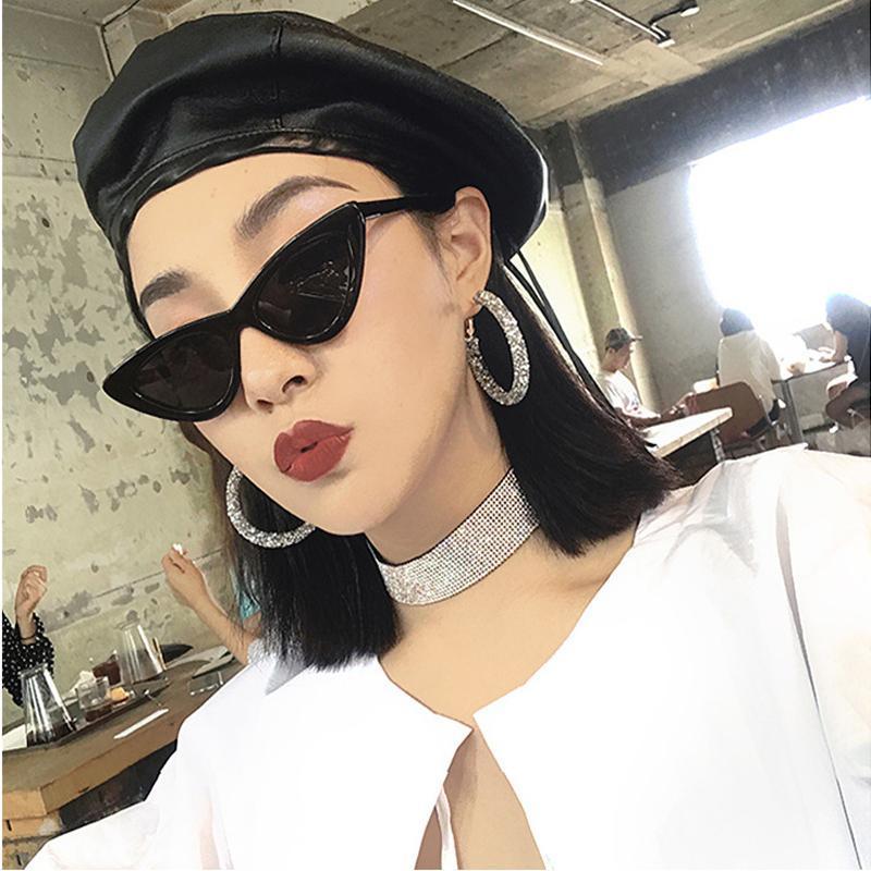Sunglasses KLBS Women Retro Brand Designer Classic Sun Glasses For WomenLuxury Ladies Mirror Female Oculos