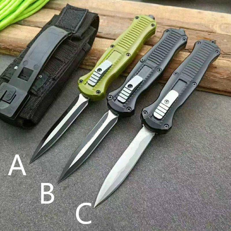 BM3300 Banc Petit Couteau Infidel Out le Front Double Couteaux Automatiques D2 Camping Tactical Couteau Tactical Couteaux Outils