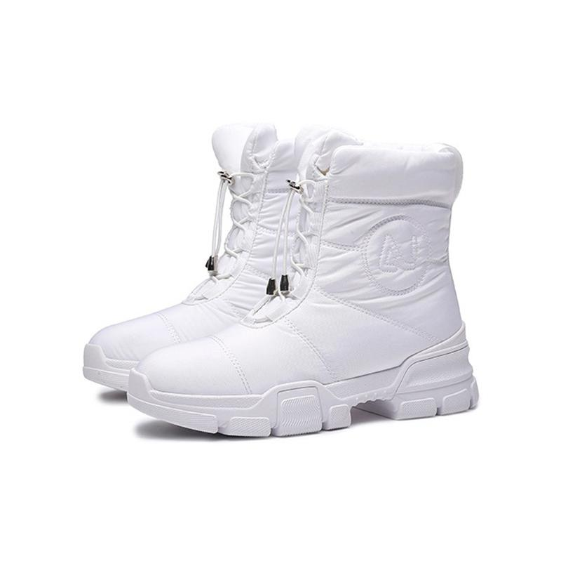 2021 Açık Eğitmenler Orijinal Tasarım Kış Kadın Aşağı Proofs Kumaş Kar Botları Rahat Yüksek Üst Sneakers Su Geçirmez Tasarımcılar Ayakkabı