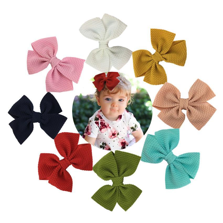 Bébé clips sa barrette arcs pour les filles colorées poils broches bulle dorek enfants chevrons hot shop